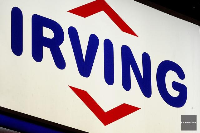 La compagnie Irving a été mise à l'amende par le ministère de l'Environnement,... (Archives La Tribune)