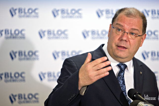 Le chef du Bloc québécois, Mario Beaulieu... (PHOTO OLIVIER JEAN,  ARCHIVES LA PRESSE)