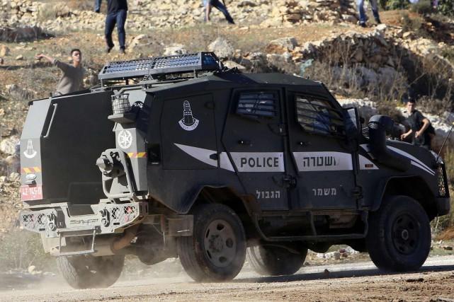 Un jeune Arabe israélien a été abattu par des policiers samedi à l'aube dans le... (Photo Abed Omar Qusini, archives Reuters)