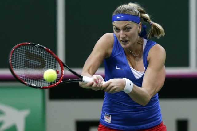 Petra Kvitova... (PHOTO DAVID W CERNY, REUTERS)