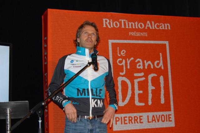 Pierre Lavoie se dit très satisfait des résultats... ((Courtoisie))