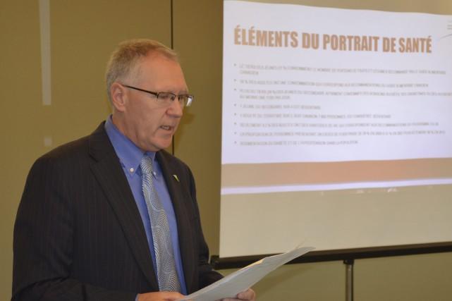Serge Desgagné a dévoilé deux initiatives qui visent... ((Photo Louis Potvin))