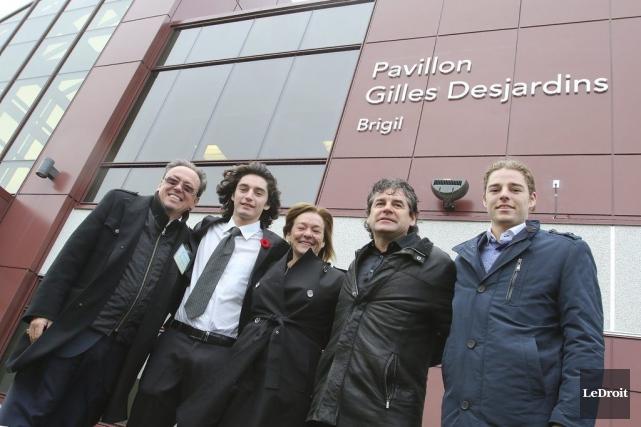 L'homme d'affaires Gilles Desjardins, que l'on aperçoit ici... (Patrick Woodbury, LeDroit)