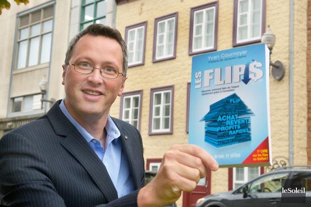 Dans son livre Les flips, Yvan Cournoyer explique... (Le Soleil, Jean-Marie Villeneuve)