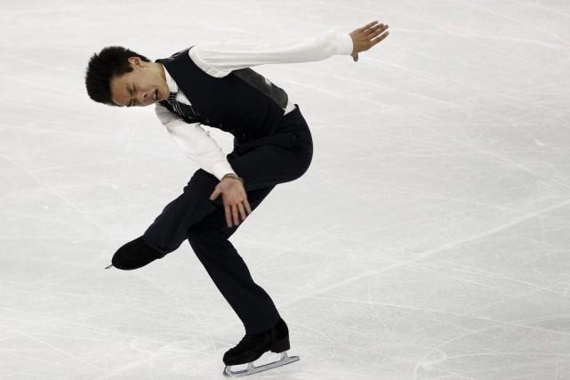 Pour Nguyen, il s'agissait d'une autre impressionnante performance... (PHOTO CARLOS BARRIA, REUTERS)