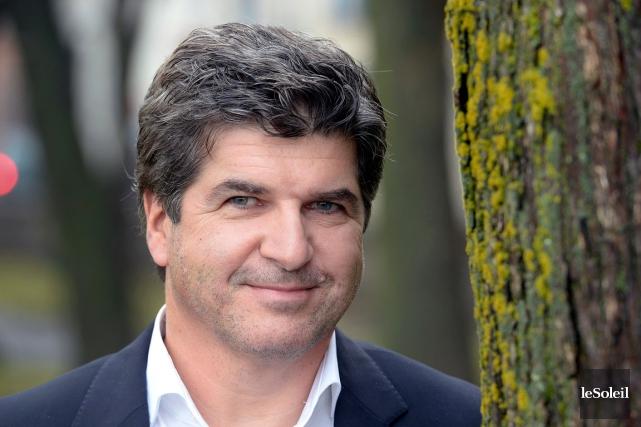 Christian Racicot attire les financiers et les grands... (Le Soleil, Jean-Marie Villeneuve)