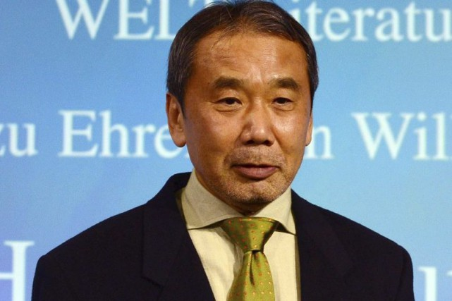 Haruki Murakami... (PHOTO ARCHIVES AFP)