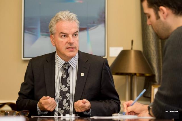 Le maire Bernard Sévigny cible la réforme de... (IMACOM, Jessica Garneau)