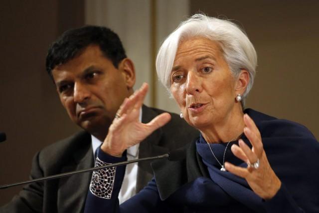 En octobre, la patronne du Fonds monétaire international... (PHOTO CHARLES PLATIAU, REUTERS)