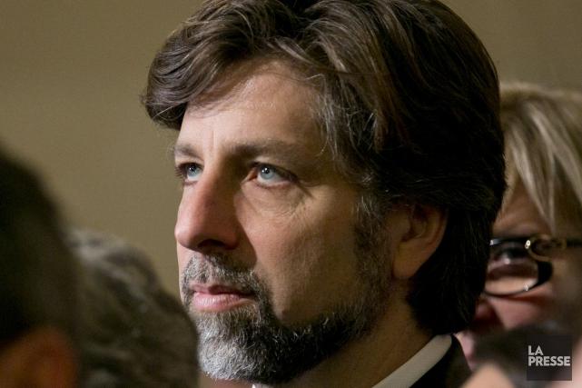 Le chef intérimaire de Projet Montréal, Luc Ferrandez,... (PHOTO DAVID BOILY, ARCHIVES LA PRESSE)