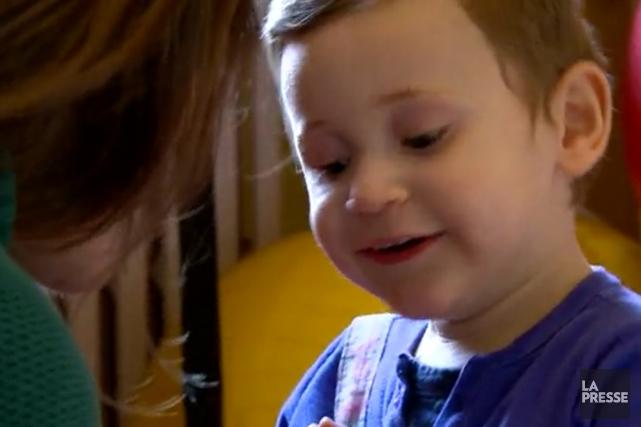 Chaque année, 125 familles reçoivent des services au... (Image tirée d'une vidéo de La Presse)