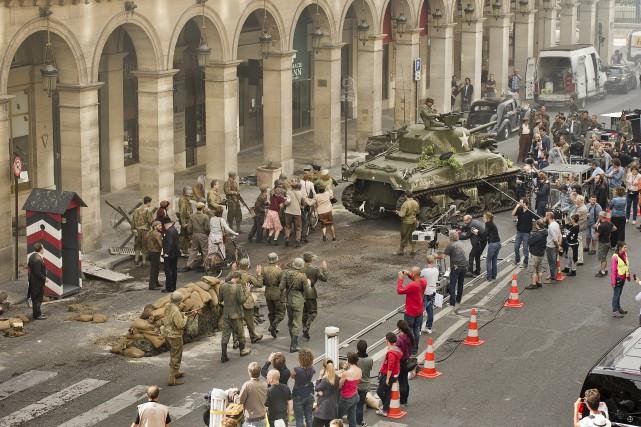 Tournage de Diplomatie... (Photo fournie par Les Films Métropole)