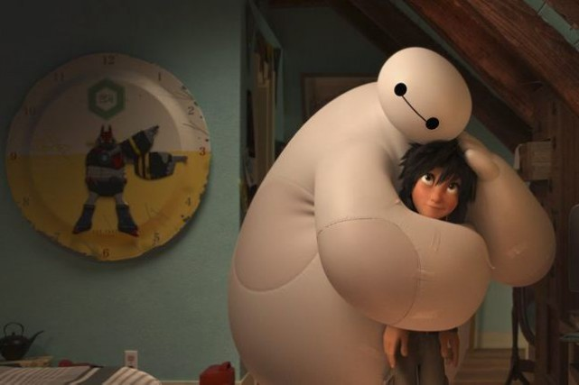 Big Hero 6... (PHOTO FOURNIE PAR DISNEY)