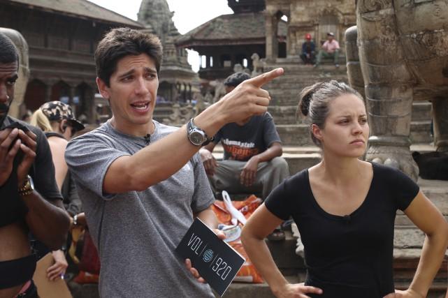 Yan England au Népal lors du tournage de... (Photo fournie par TVA)