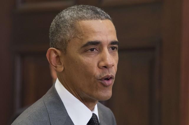 Le président Barack Obama dit avoir l'intention d'émettre une directive pour... (Photo JIM WATSON, AFP)