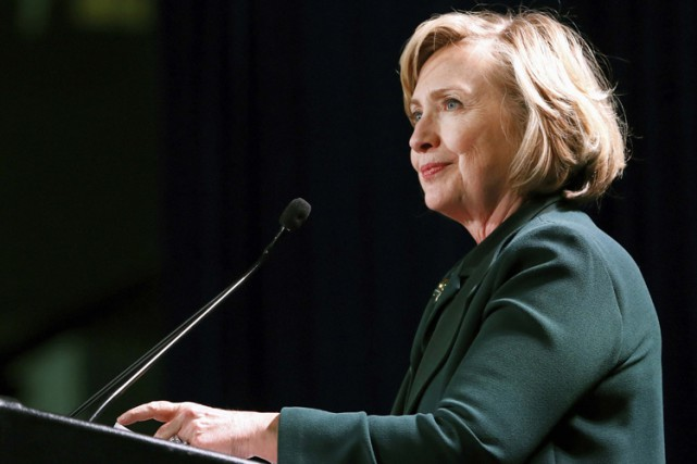 Hillary Clinton... (Photo: Reuters)
