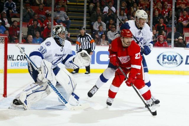 Steven Stamkos a inscrit deux buts en temps réglementaire, Ryan Callahan a été... (Photo: Reuters)