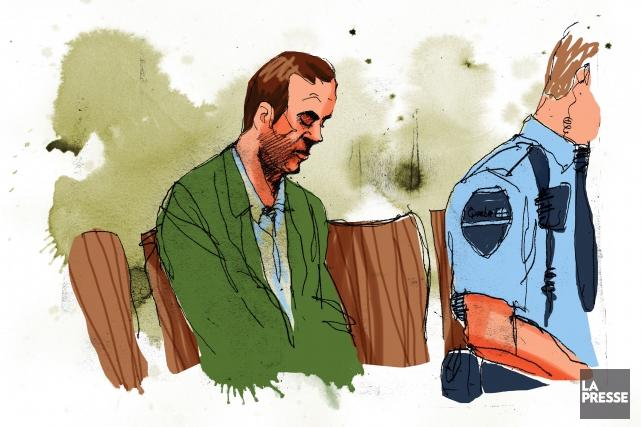 En libérant Guy Turcotte dans l'attente de son deuxième procès, le tribunal... (Illustration André Rivest, La Presse)