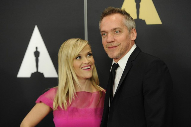 Reese Witherspoon et Jean-Marc Vallee à la 6e... (Photo: AP)