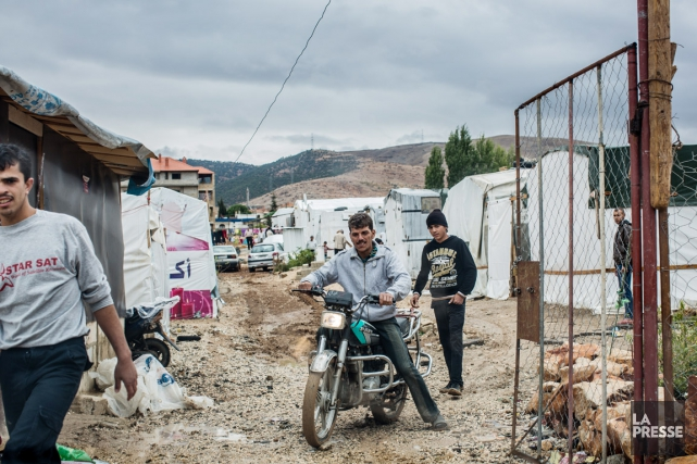 Dans le camp de réfugiés de Majdal-Anjar (ci-dessus)... (PHOTO ÉDOUARD PLANTE-FRÉCHETTE, LA PRESSE)