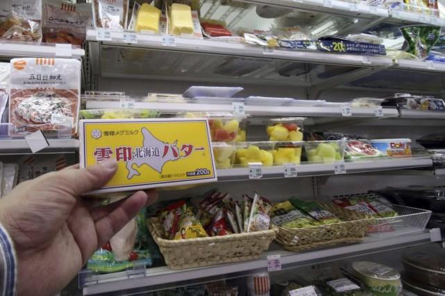 Le gouvernement a donc dû importer 7000 tonnes... (PHOTO YOSHIKAZU TSUNO, AFP)