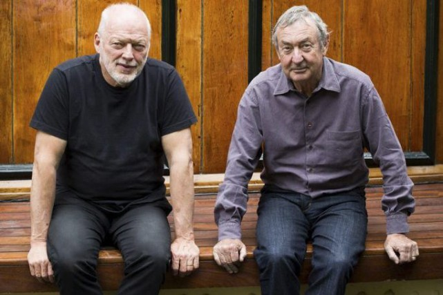 Le guitariste David Gilmour et le batteur Nick... (Photo: fournie par les artistes)