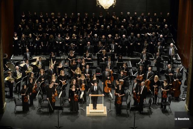 L'Orchestre symphonique de Trois-Rivières a offert une version... (Photo: Sylvain Mayer, Le Nouvelliste)