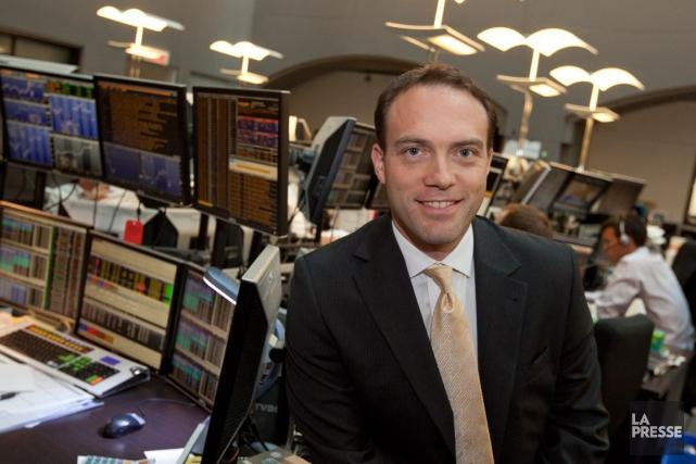 Pierre Lacroix, gestionnaire de portefeuillechez VMD dans le... (PHOTO OLIVIER PONTBRIAND, ARCHIVES LA PRESSE)