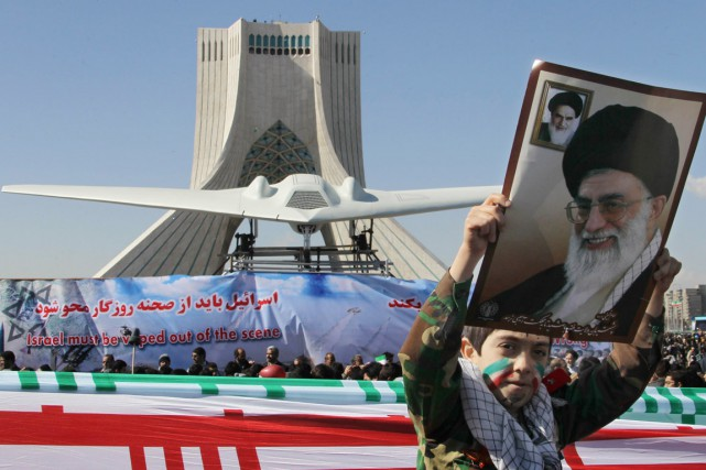 L'Iran avait capturé en décembre 2011 un drone... (PHOTO ATTA KENARE, ARCHIVES AFP)