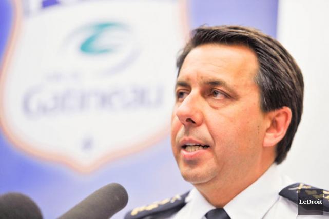 Selon le chef de la police de Gatineau,... (MARTIN ROY, Archives LeDroit)