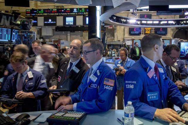 «Le marché poursuit simplement sur sa lancée» même... (PHOTO BRENDAN MCDERMID, REUTERS)