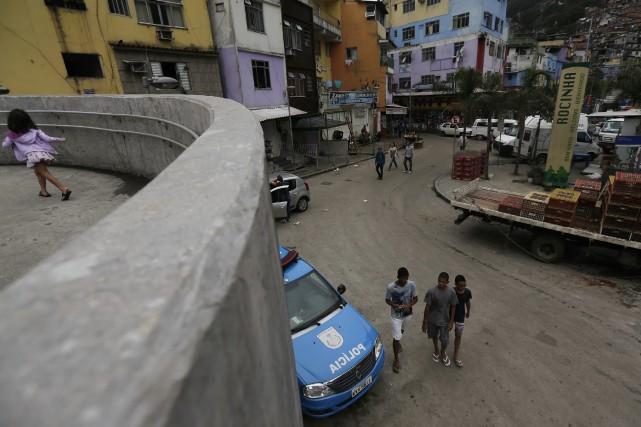 Les policiers de Sao Paulo affirment qu'au moins... (Photo RICARDO MORAES, Archives Reuters)