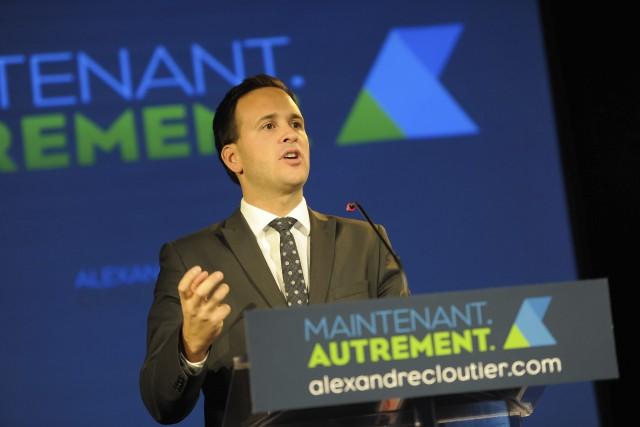 Alexandre Cloutier entame une tournée du Québec pour... ((Photo Gimmy Desbiens))