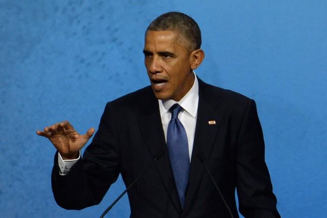 Le président américain Barack Obama... (Photo REUTERS)