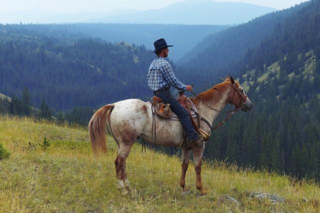 En randonnée au Big Bar Guest Ranch... (Collaboration spéciale Yves Ouellet)