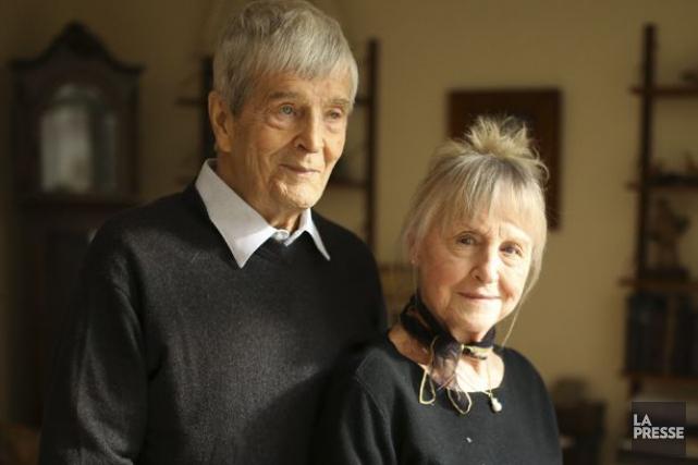 Gilles Pelletier a connu son amoureuse et complice... (Photothèque La Presse)