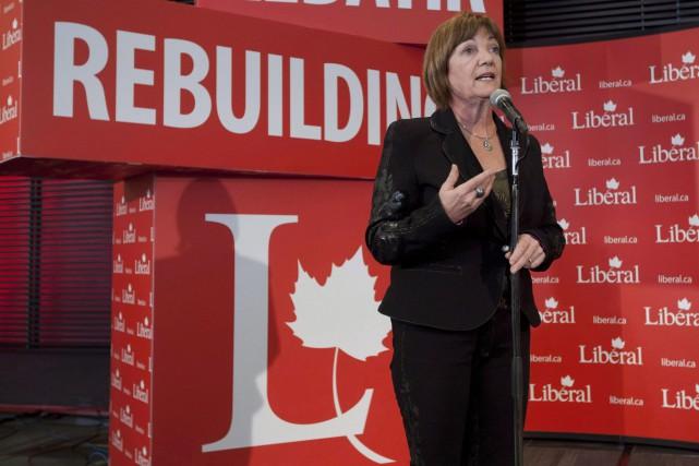 Sheila Copps, qui a longtemps été députée, a... (Photo Adrian Wyld, Archives PC)