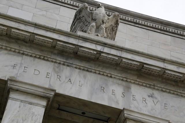 La Banque centrale américaine avait indiqué fin octobre... (PHOTO JONATHAN ERNST, ARCHIVES REUTERS)