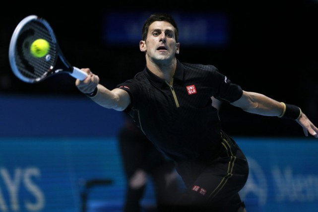 Djokovic, double tenant du titre, a surclassé Marin... (Photo Reuters)