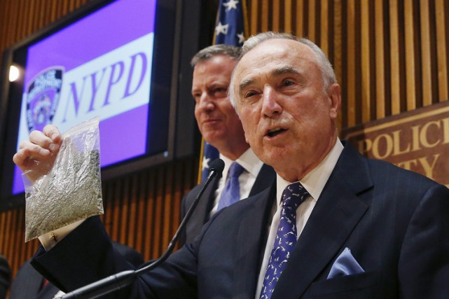 Le chef de la police de New York,... (Photo: Reuters)