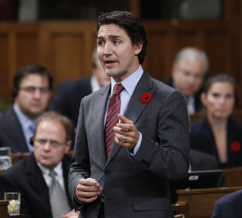 Le chef du Parti libéral, Justin Trudeau, a... (Photo Chris Wattie, Reuters)