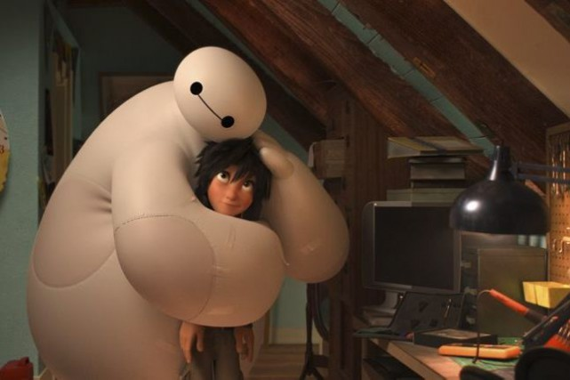 Big Hero 6, inspiré de comics de Marvel,... (PHOTO FOURNIE PAR DISNEY)