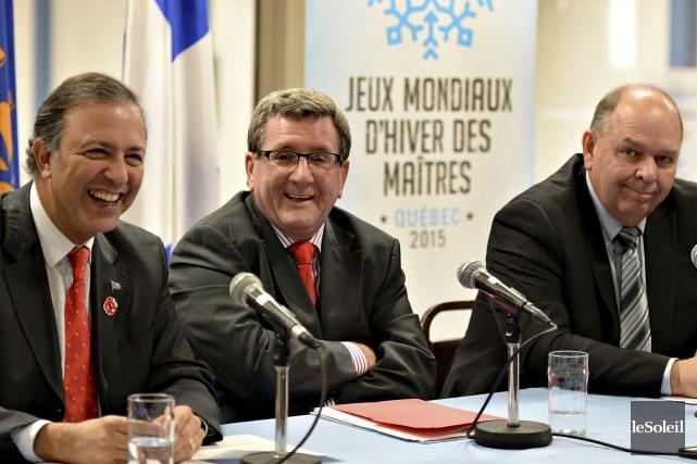 Le ministre responsable de la Capitale-Nationale, Sam Hamad,... (Le Soleil, Patrice Laroche)