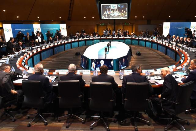Par le passé, les différents sommets des plus... (Photo archives AFP)