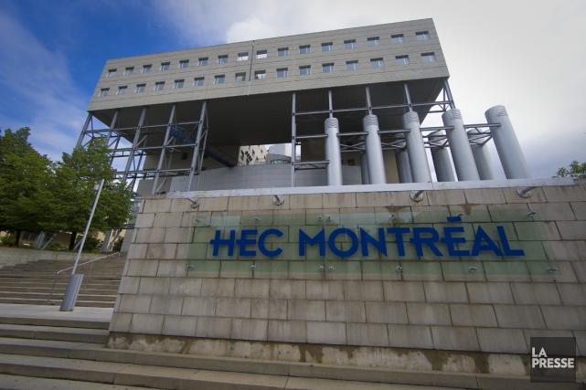 HEC Montréal offre ou va offrir deux nouvelles personnalisations de son... (PHOTO ANDRÉ PICHETTE, ARCHIVES LA PRESSE)