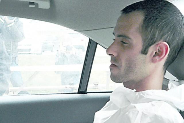 Jean-François Roy, accusé du meurtre d'un chauffeur de... (Collaboration spéciale Luce Dallaire)