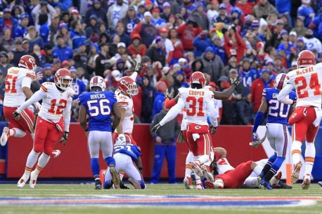 Les Chiefs de Kansas City ont vaincu les... (Bill Wippert)