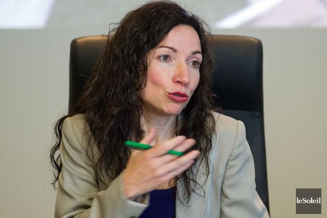 Martine Ouellet, députée de Vachon et aspirante à... (Photothèque Le Soleil)