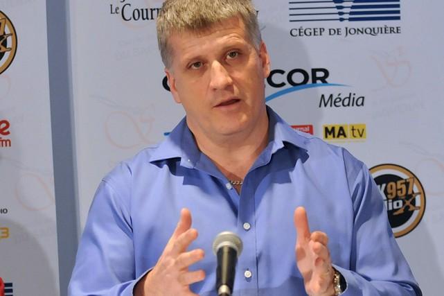 Alain Gagnon, président de la SNEAA... (Archives Rocket Lavoie)