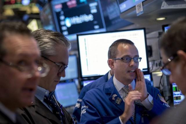 «Le volume d'échanges reste limité aux Etats-Unis où... (PHOTO BRENDAN MCDERMID, REUTERS)